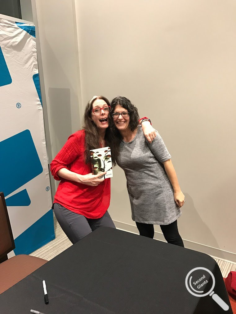 Meeting Laurie Halse Anderson, young adult literature author