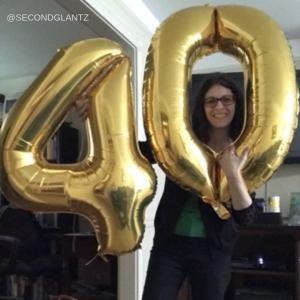 Cheryl at 40
